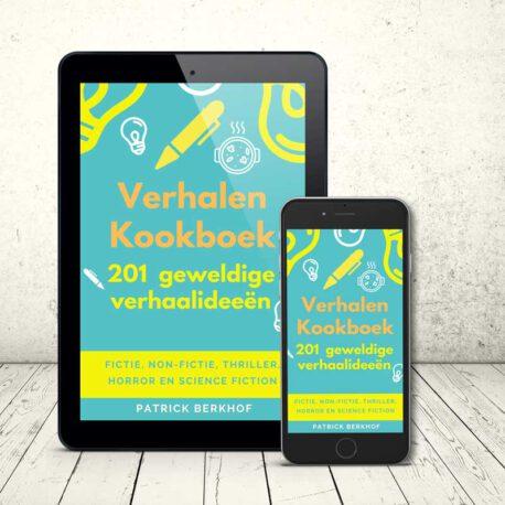 verhalen kookboek, schrijf inspiratie, schrijver, Patrick Berkhof