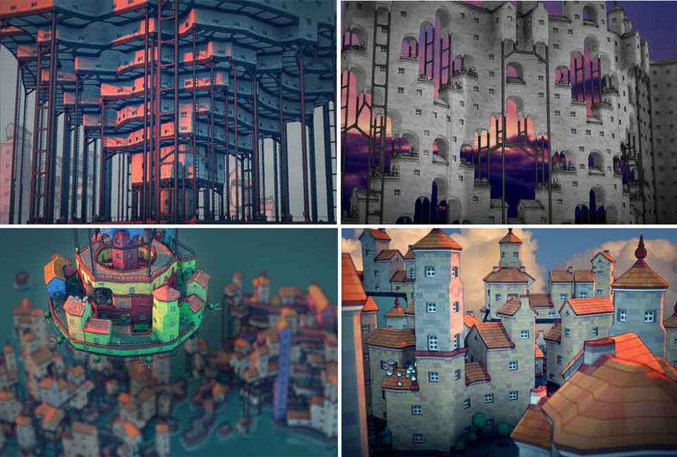 townscaper, townscape, project dizary