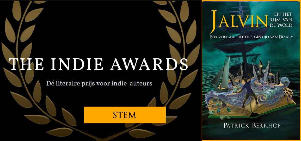 Stem voor Jalvin bij The Indie Awards