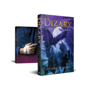 Dizary a hero's mark, limited edition, Patrick Berkhof