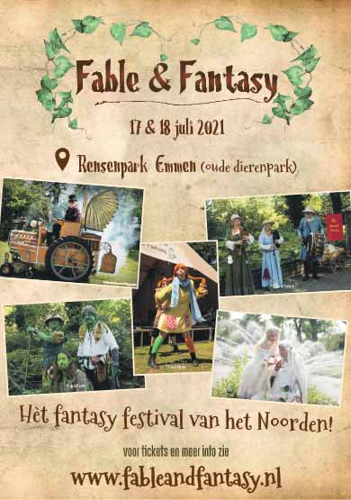 poster fable fantasy dizary