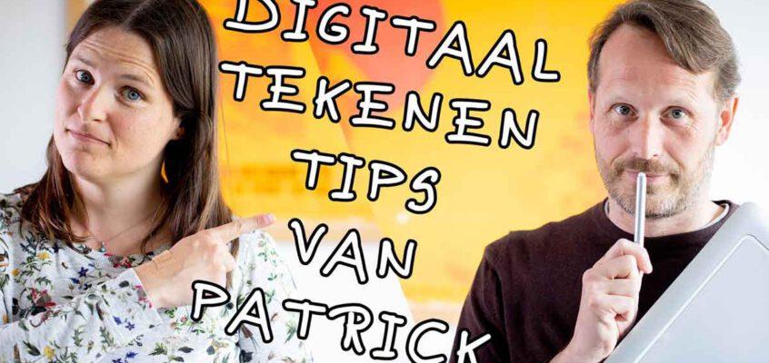 6 tips voor digitaal tekenen