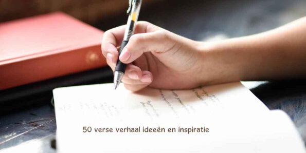 vijftig verhaal ideeën, schrijven, idee