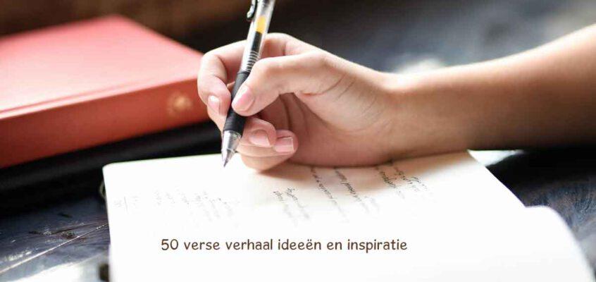 Weer 50 verhaal ideeën en schrijf inspiratie