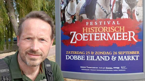 Patrick Berkhof op Historisch Zoetermeer