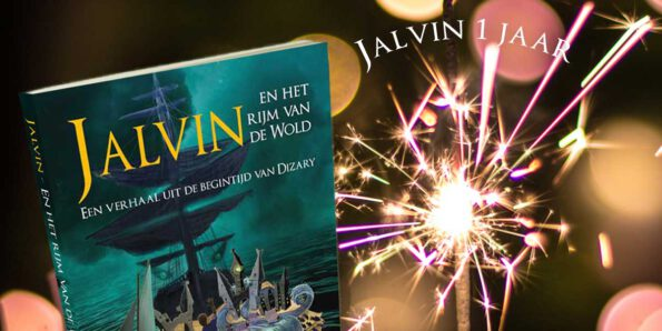 Jalvin 1 jaar, Dizary, Patrick Berhof, novelle